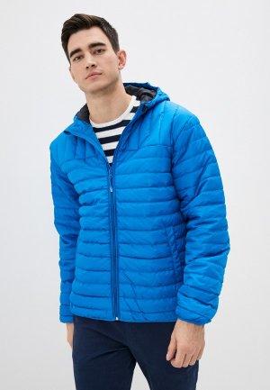 Куртка утепленная Only & Sons. Цвет: синий