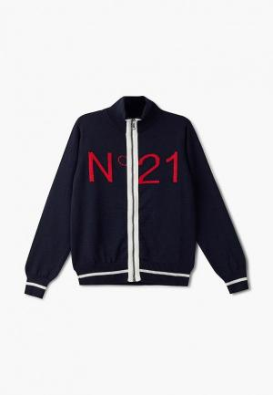 Кардиган N21. Цвет: синий