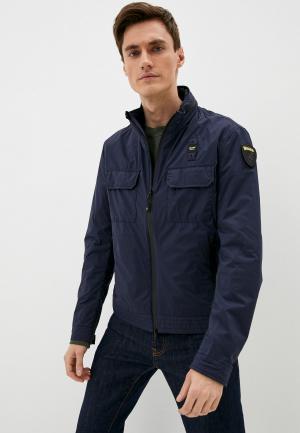 Куртка Blauer USA. Цвет: синий