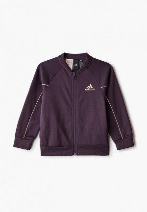 Олимпийка adidas. Цвет: фиолетовый