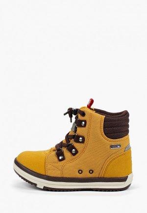 Ботинки Reima. Цвет: желтый