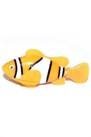 Рыбка-робот «Funny fish» BRADEX. Цвет: оранжевый