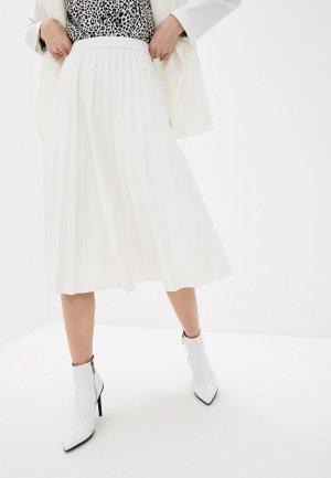 Юбка UNQ. Цвет: белый