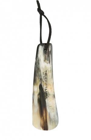 Рожок для обуви с кожаной подвеской Truefitt&Hill. Цвет: бесцветный
