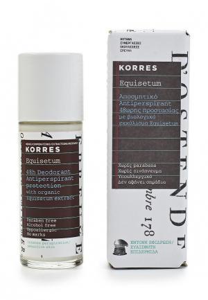 Дезодорант Korres. Цвет: белый
