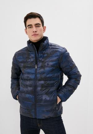 Куртка утепленная Polo Ralph Lauren. Цвет: синий