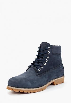 Ботинки Affex. Цвет: синий