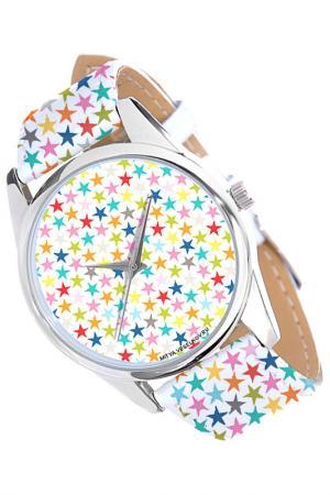 Часы Звездочки MITYA VESELKOV. Цвет: красный