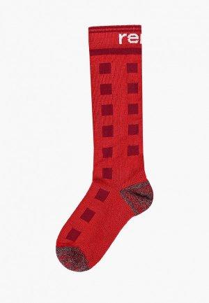 Носки Reima. Цвет: красный