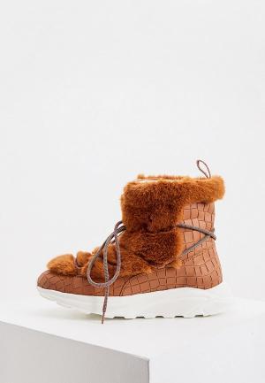 Ботинки Hide & Jack. Цвет: коричневый