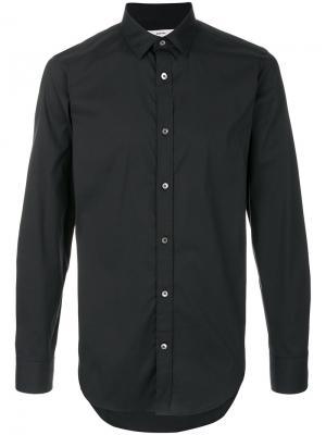 Рубашка с длинными рукавами Mauro Grifoni. Цвет: чёрный