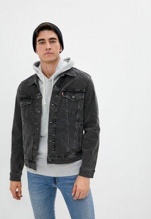 Куртка джинсовая Levis® Levi's®. Цвет: серый