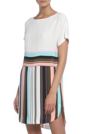 Платье Marella. Цвет: комбинированный