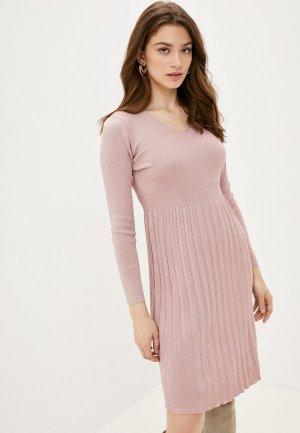 Платье Fresh Cotton. Цвет: розовый