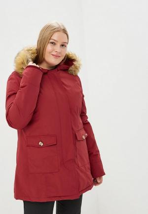 Куртка утепленная Gaudi. Цвет: бордовый