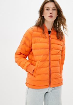 Куртка утепленная Closed. Цвет: оранжевый