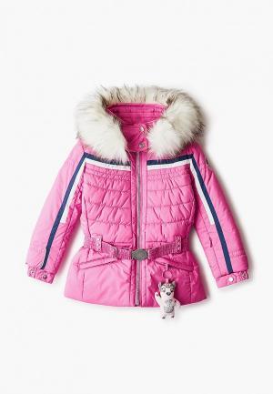Куртка утепленная Poivre Blanc. Цвет: розовый