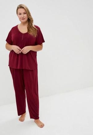 Пижама Evans. Цвет: бордовый
