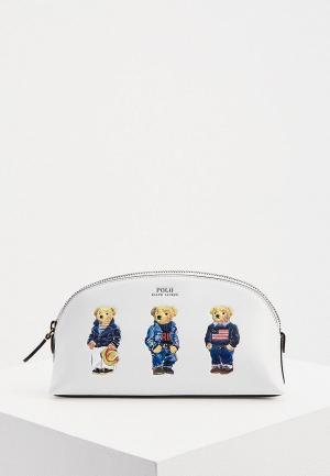 Косметичка Polo Ralph Lauren. Цвет: белый