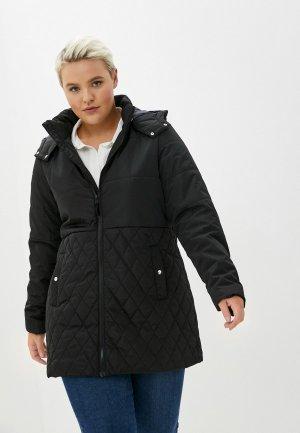 Куртка утепленная Junarose. Цвет: черный