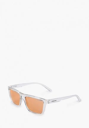 Очки солнцезащитные Arnette. Цвет: розовый