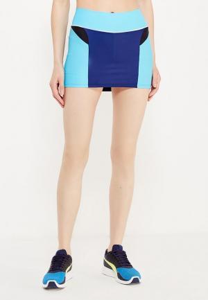 Юбка-шорты Dali. Цвет: синий