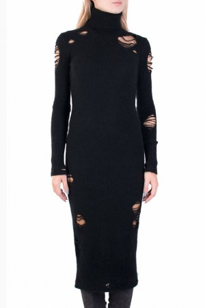 Платье MARCO BOLOGNA. Цвет: черный