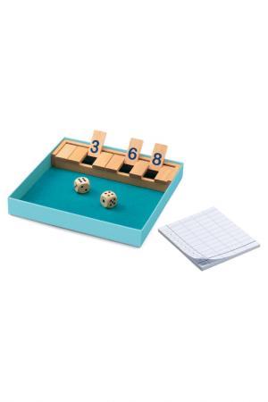Игра настольная Открой коробку Djeco. Цвет: голубой