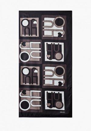 Платок Liu Jo. Цвет: черный