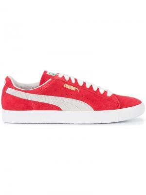 Ribbon sneakers Puma. Цвет: красный