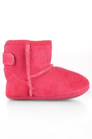 Полусапожки Vitacci. Цвет: розовый