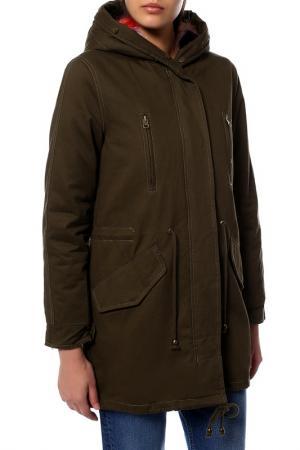 Куртка MARINA YACHTING. Цвет: green camouflage_green brown