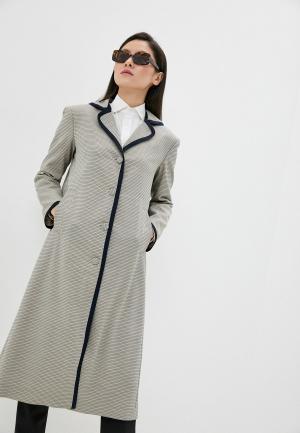 Пальто LAutre Chose L'Autre. Цвет: серый