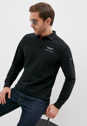 Поло Aston Martin Racing by Hackett. Цвет: черный
