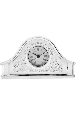 Часы, 21,5 см CRYSTAL BOHEMIA. Цвет: прозрачный