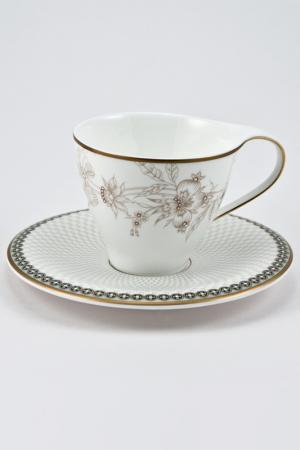 Кофейная пара 6 шт. Royal Porcelain. Цвет: зеленый