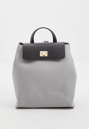 Рюкзак Braccialini. Цвет: серый