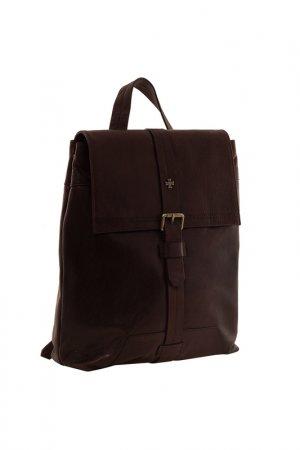 Портфель-рюкзак Narvin. Цвет: коричневый