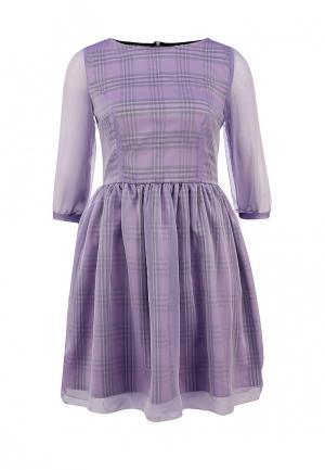 Платье LuAnn. Цвет: фиолетовый