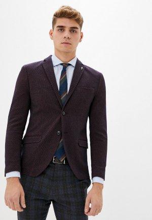 Пиджак Selected Homme. Цвет: бордовый