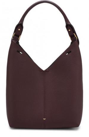 Сумка Small Build a Bag Anya Hindmarch. Цвет: бордовый