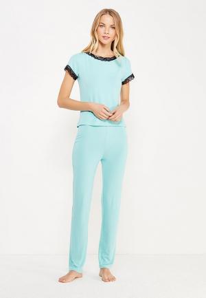 Пижама TrendyAngel. Цвет: бирюзовый