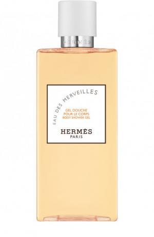 Гель для душа Eau Des Merveilles Hermès. Цвет: бесцветный
