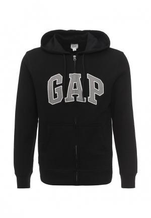 Толстовка Gap. Цвет: черный