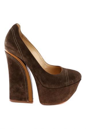 Туфли Gianmarco Lorenzi. Цвет: коричневый