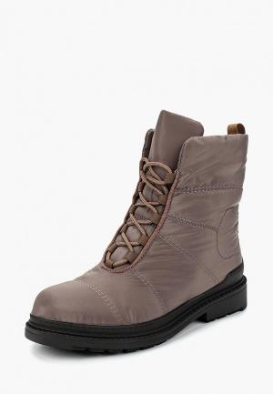 Ботинки Finn Line. Цвет: коричневый