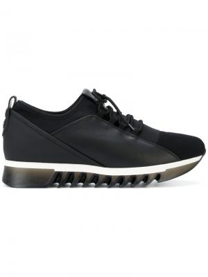 Panelled mesh sneakers Alexander Smith. Цвет: чёрный