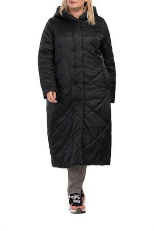 Пальто Modress. Цвет: черный