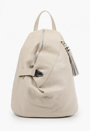 Рюкзак Isabella Rhea. Цвет: бежевый