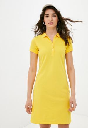 Платье Galvanni. Цвет: желтый